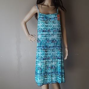 NWT West Loop stretch aztec print dress size XL
